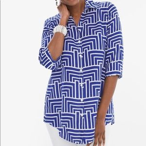 Chico's cute and comfy tunic